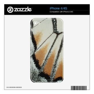 Butterfly Wing Skin For The iPhone 4S
