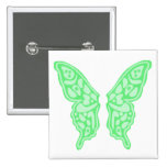 Butterfly Wings 3 Button
