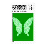 Butterfly Wings 3 Postage Stamps