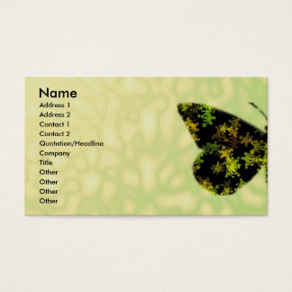 Butterfly Wings Business Card