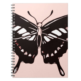 Butterfly wings note books