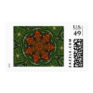 Butterfly Wings Postage Stamp