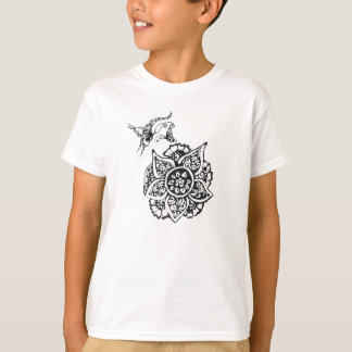 Butterfly with Flower(Henna) T-Shirt