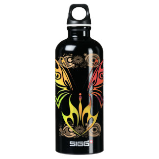 Butterfly with Flowers 24oz Liberty Bottle SIGG Traveler 0.6L Water Bottle