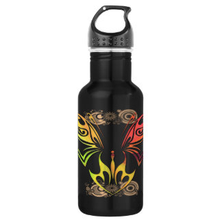 Butterfly with Flowers 32oz Liberty Bottle