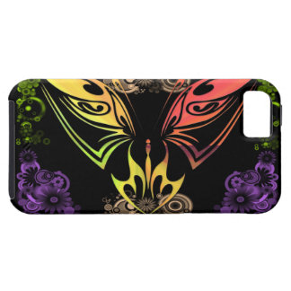 Butterfly with Flowers iPhone 5G Case-Mate Case iPhone 5 Cases