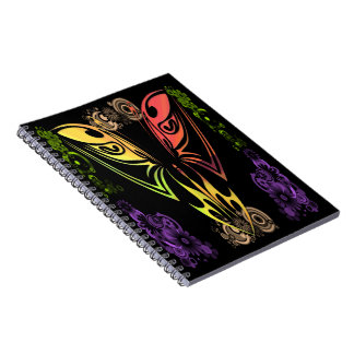 Butterfly with Flowers Notebook
