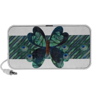 Butterfly with Peacock Eyes iPod Speaker
