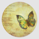 Butterfly with Poem Stickers