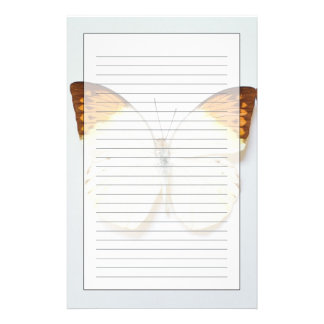 Butterfly with wingspread, found in regions of Asi Stationery