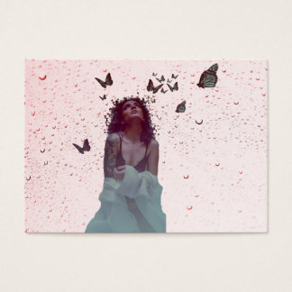 Butterfly Woman Business Card