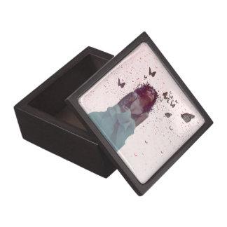 Butterfly Woman Jewelry Box