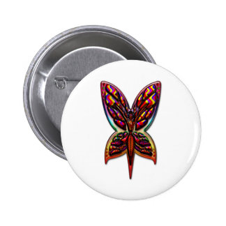 Butterfly Woman three E Button