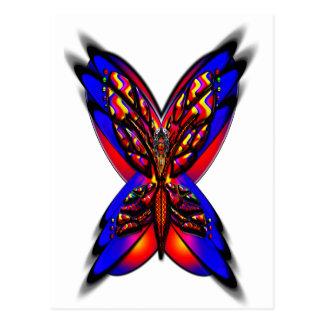 Butterfly Woman three h Postcard