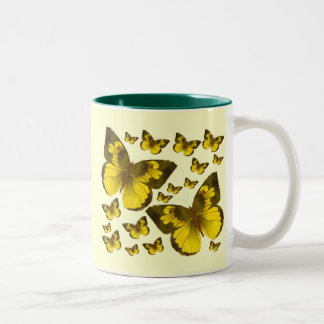 Butterfly Wonder Two-Tone Coffee Mug