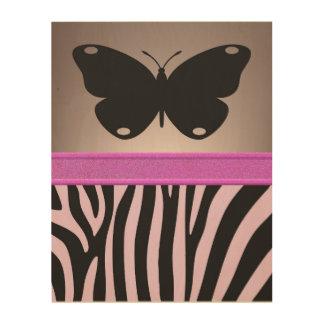 Butterfly Wood Wall Art