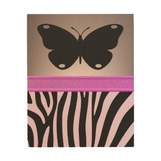 Butterfly Wood Wall Decor