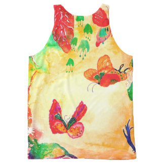 Butterfly World. All-Over-Print Tank Top