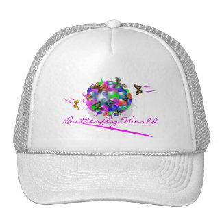 BUTTERFLY WORLD CAP TRUCKER HAT