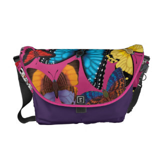 Butterfly World Courier Bag