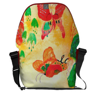 Butterfly World. Courier Bag