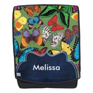 Butterfly World Customized Backpack