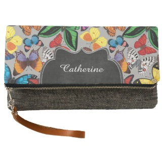 Butterfly World Customized Clutch