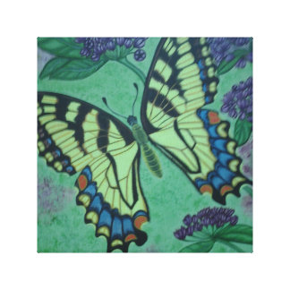 Butterfly Wrapped Canvas