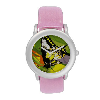 Butterfly Wrist Watches