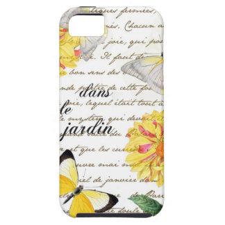 Butterfly Yellow Dahlia Garden Case