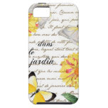 Butterfly Yellow Dahlia Garden Case iPhone 5 Cover