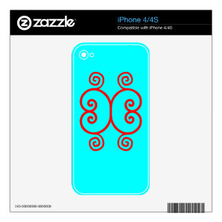 Butterfly Zazzle Skin Skins For The iPhone 4