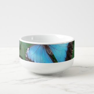 Butterfly Soup Bowl With Handle