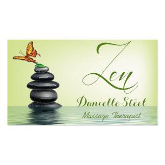 Butterfly Zen Therapist Business Card