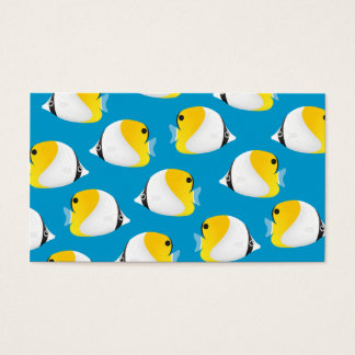Butterflyfish Business Card