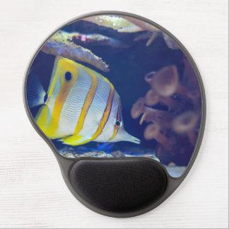 Butterflyfish de Copperband Alfombrilla De Raton Con Gel