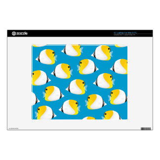 "Butterflyfish Decal For 12"" Laptop"