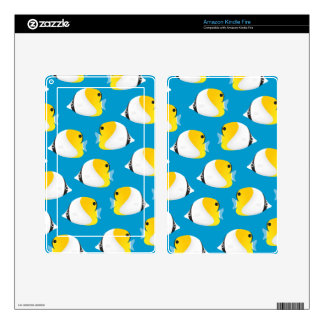Butterflyfish Kindle Fire Decal