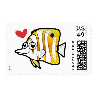 Butterflyfish Love Stamp