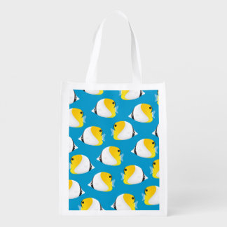 Butterflyfish Reusable Grocery Bag