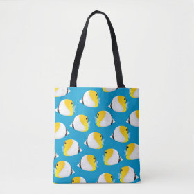 Butterflyfish Tote Bag