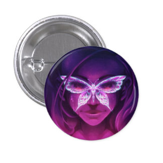 ButterflyRash Pin Redondo De 1 Pulgada