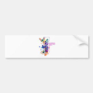 Butterflys Logo Bumper Sticker