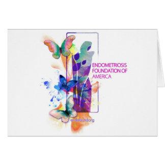 Butterflys Logo Greeting Card