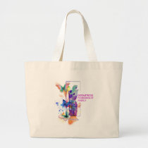 Butterflys Logo Large Tote Bag