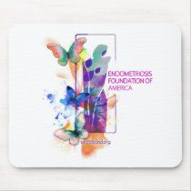 Butterflys Logo Mouse Pad
