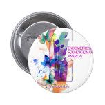 Butterflys Logo Pinback Buttons