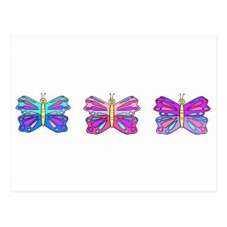 Butterflys Postcard