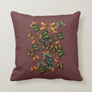 butterflys throw pillow