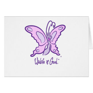 Butterfly's Wild Smile Card